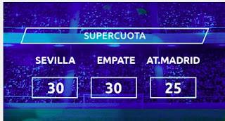 Mondobets supercuota  Sevilla vs Atletico 4-4-2021