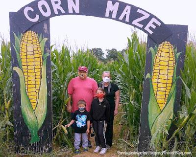 Strite's Orchard Farm Market Corn Maze in Harrisburg Pennsylvania