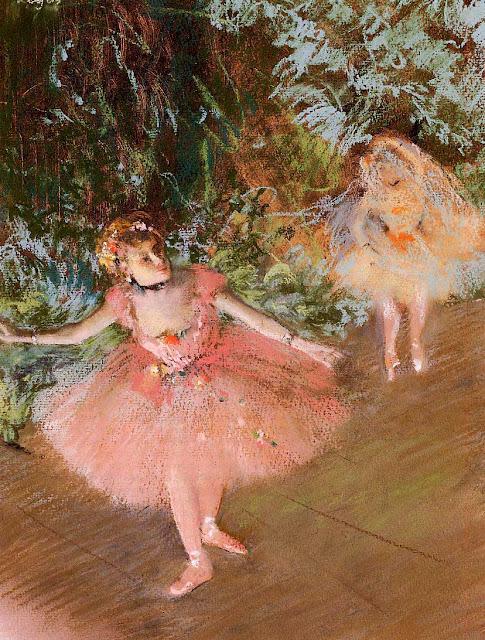 Эдгар Дега - Танцовщица на сцене (1878-1880)