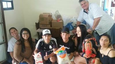 Grêmio Estudantil M.D.E. realiza gincana e doa 350 itens alimentícios à Casa do Idoso de Cananéia