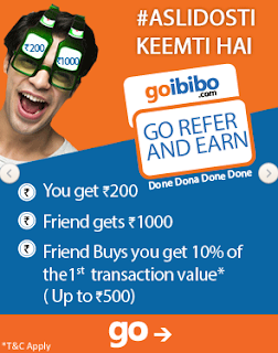 Download Goibibo App And Get Instant Free Rs 1000/- GoCash - She Told Me