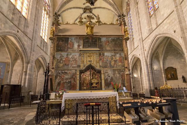 Mausoleo con las reliquias de Saint Bertrand en la Catedral de Santa María, por El Guisante Verde Project