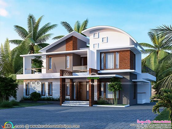 Beautiful contemporary style home design