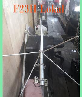 Membuat Sendiri Antena Diamond F23H