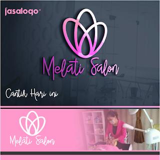 Jasa Desain Logo Melati Salon