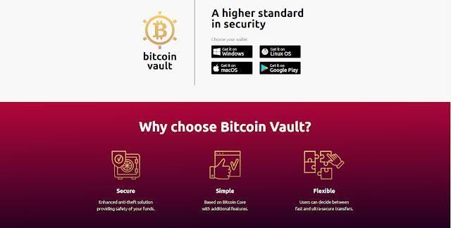 Tính năng vượt trội của Bitcoin Vault