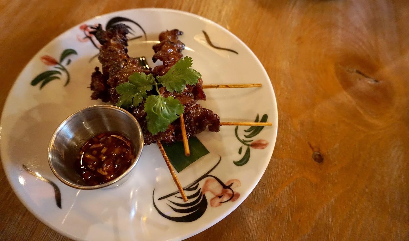 Thaikhun Moo Ping Pork Skewers Starter