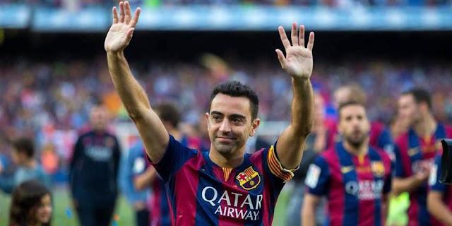 Xavi Hernandez Mantan Gelandang Bertahan Barcelona Ini Masih Belum Siap Jadi New Guardiola Di Barcelona