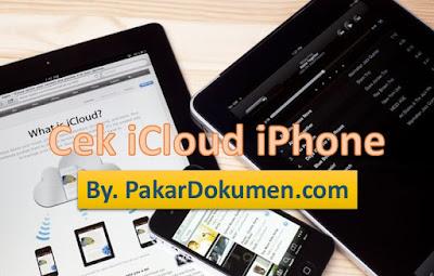 Cara Cek Status iCloud iPhone