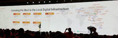 At the summit, Yan emphasised that Alibaba Cloud is in Asia for Asia, and not in China for China.