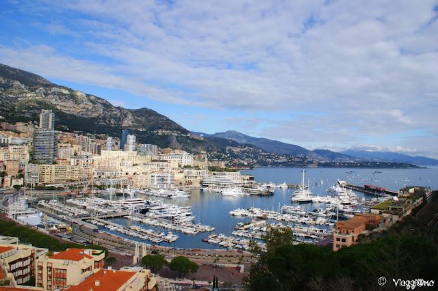 Vista Panoramica sul porto del Principato di Monaco