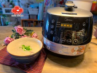 美的Midea MYSS50HK 4.8公升全自動智能高速鍋 - 皮蛋瘦肉粥