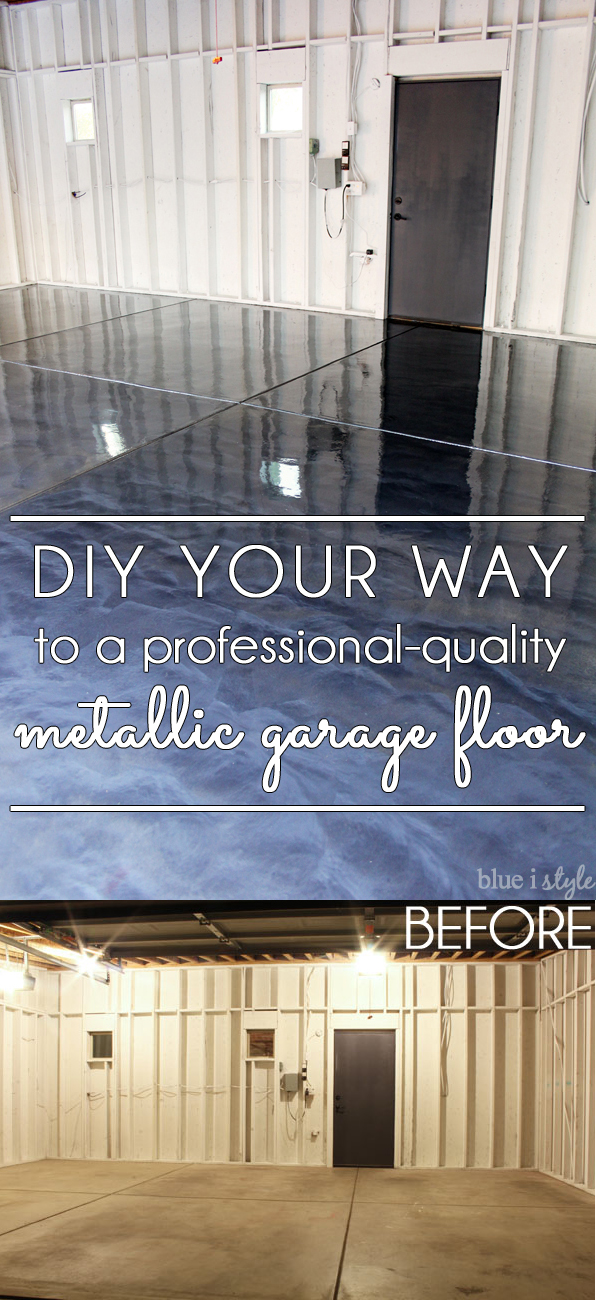 DIY your way to a professional-quality garage floor