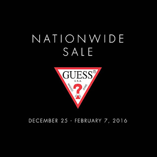 GUESSPhil, GUESSPhil facebook, Guess Philippines Nationwide Sale, sulitipid