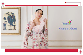 Saniya Trendz Ashifa nabeel pakistani Suits Catalog