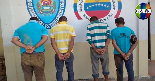 Desmantelada banda delictiva de El Don de Santa Teresa