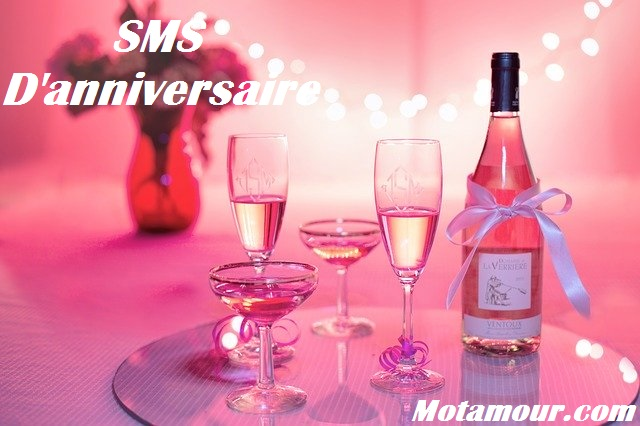 Photo SMS d'anniversaire