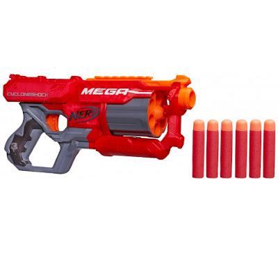 Súng Nerf N-StrikeMega Cycloneshock