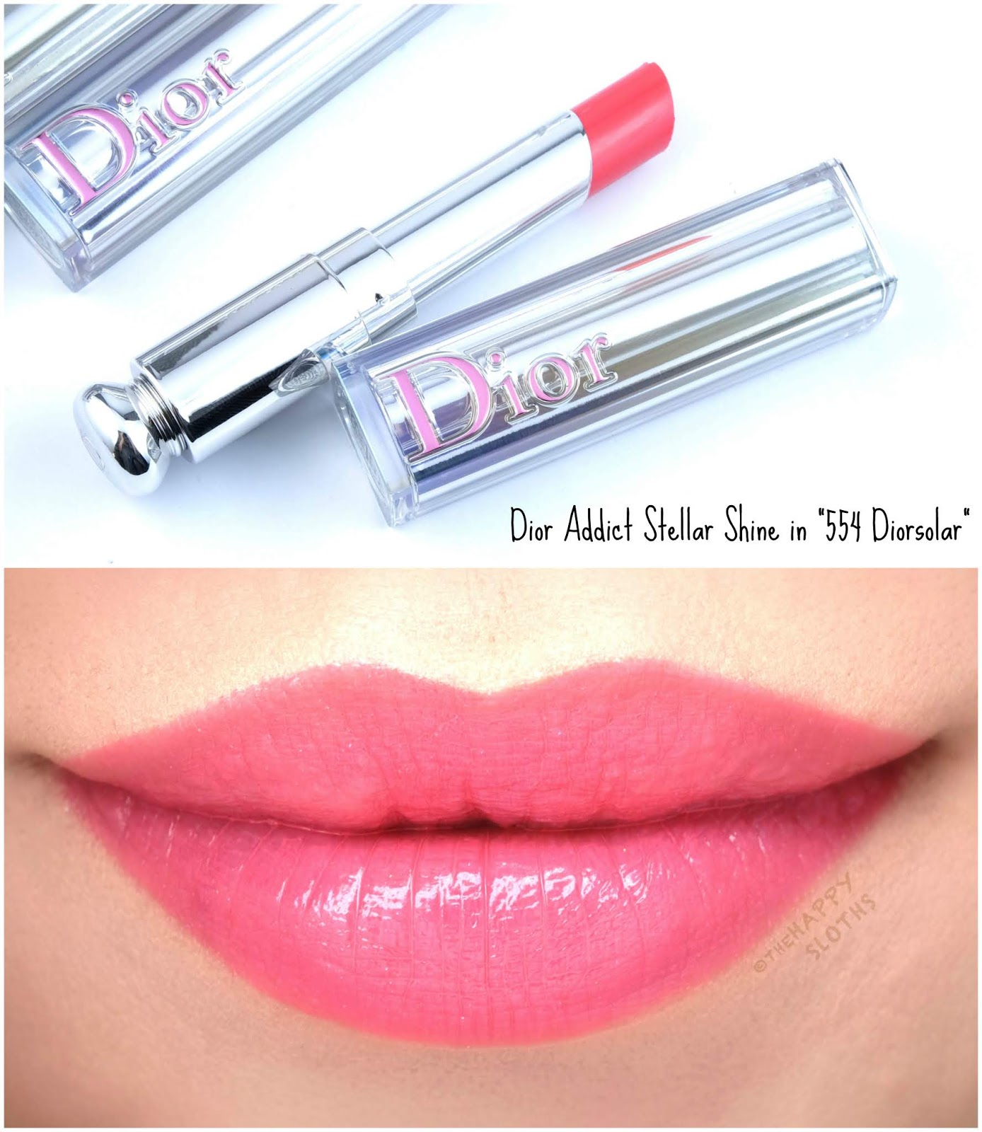 "Dior | Dior Addict Stellar Shine in ""554 Diorsolar"": Review and Swatches"