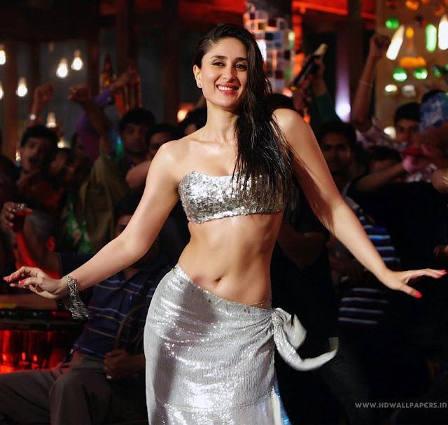 Actress Kareena Kapoor Cleavage and Navel Actress Trend