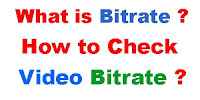 What is Bitrate and How to Check Video Bitrate?