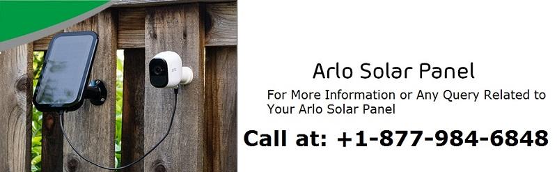 Solar Panel For Arlo Security Camera