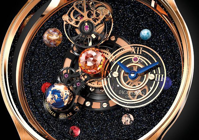 Jacob & Co. Astronomia Solar Mechanical Hand-wound Watch