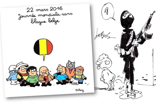 Attentats terroristes perpétrés à Bruxelles le 22 mars 206 - Bruxelles-Bruxellons