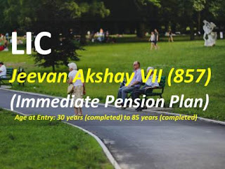 LIC Jeevan Akshay VII (857): Immediate Pension Plan policy - review