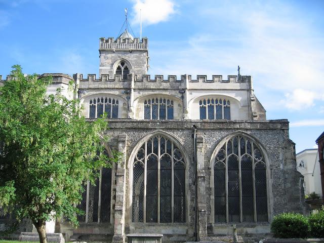 Visitare la chiesa di St. Thomas a Salisbury