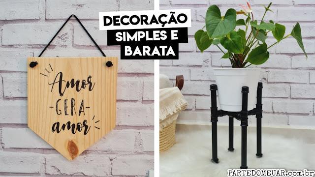 ideias de decoração simples