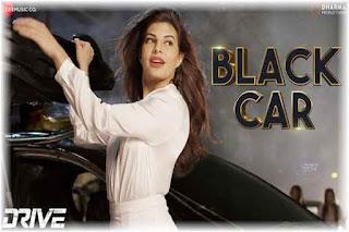 Black Car Lyrics-Drive Poster