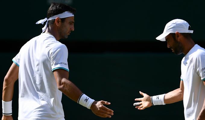 Cabal y Farah avanzaron a cuartos de final del Masters 1000 de cincinnati.