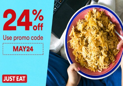 JustEat Long Weekend 24% Off Promo Code