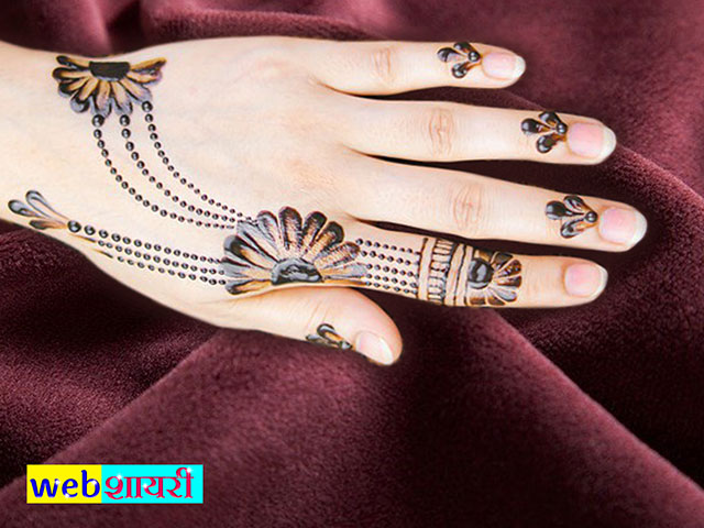 back hand mehndi design simple back hand mehndi design