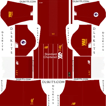 Download Kit DLS Liverpool Home 2019 - 2020
