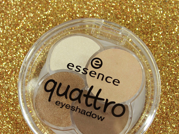 Essence Quattro Eyeshadow #05 To Die For Swatches & Review