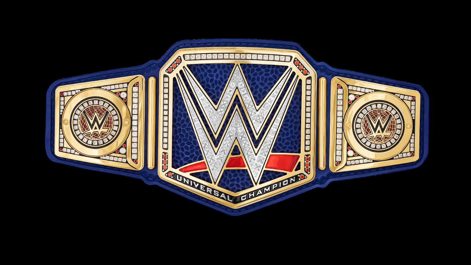 current WWE Universal champion title holder