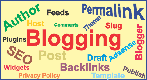 Blogging terms