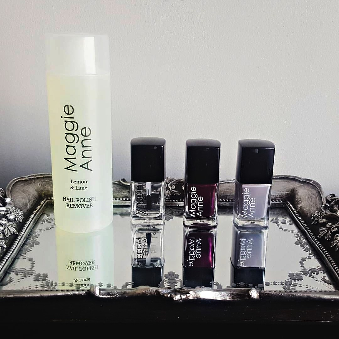 Maggie Anne Nail Polishes and Remover