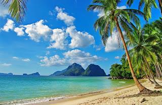 صور شاطئ جميل و ممتع
