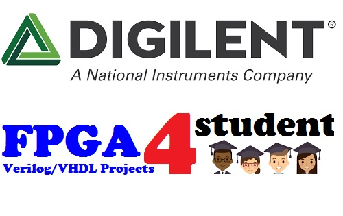 Digilent FPGA sponsor for FPGA4student
