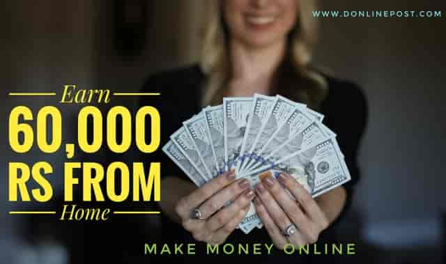 Earn money online from home without any investment