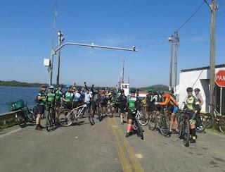Ciclistas de Curitiba se encantam com Trecho Jacupiranga / Cananéia do Circuito Lagamar