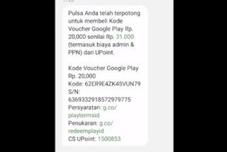 Mengisi Saldo Google Play Dengan Pulsa Telkomsel