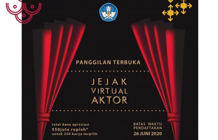 Undangan Terbuka Jejak Virtual Aktor dari Kemdikbud RI