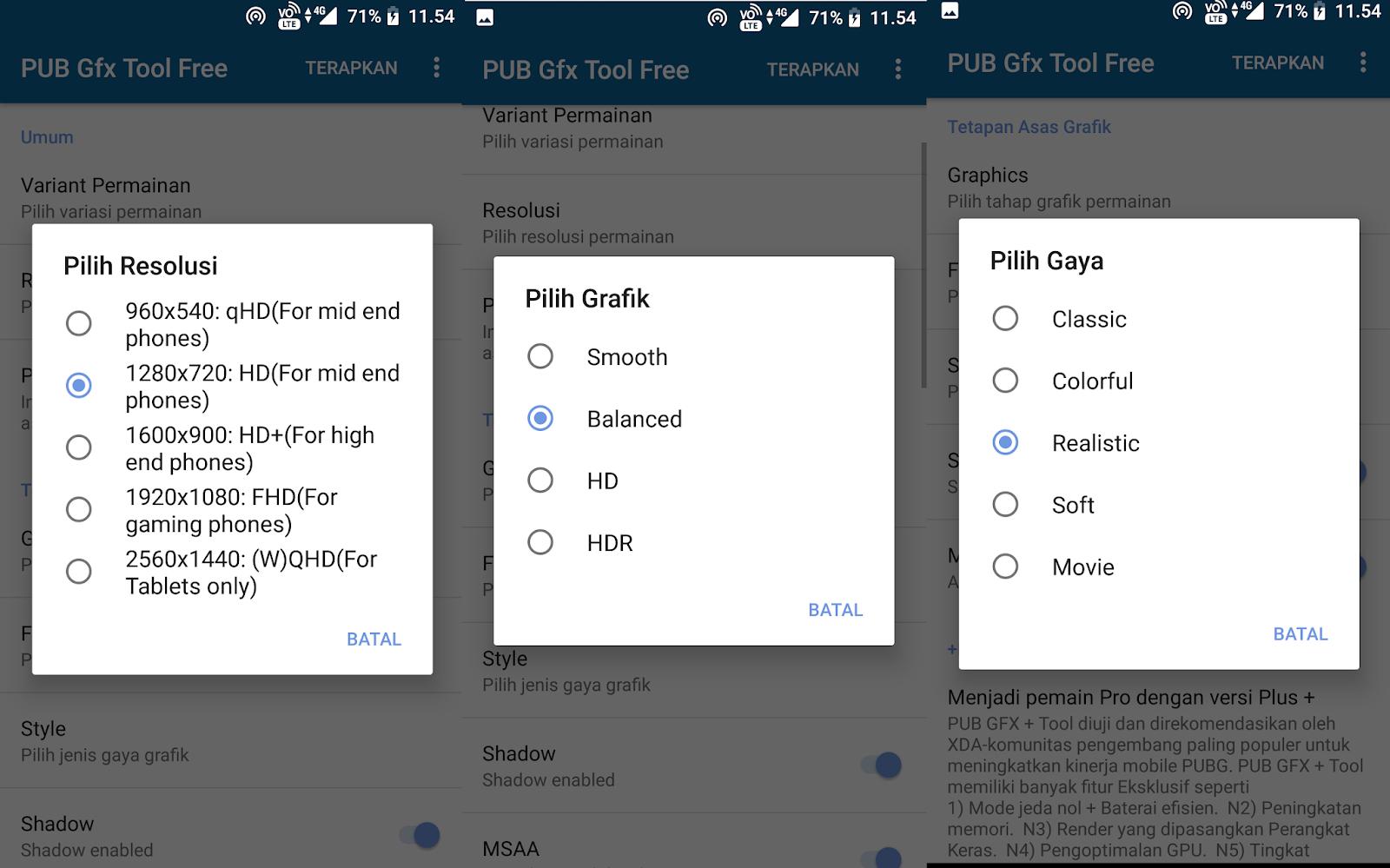 Cara Setting Grafik HD PUBG Mobile Semua Smartphone Tanpa
