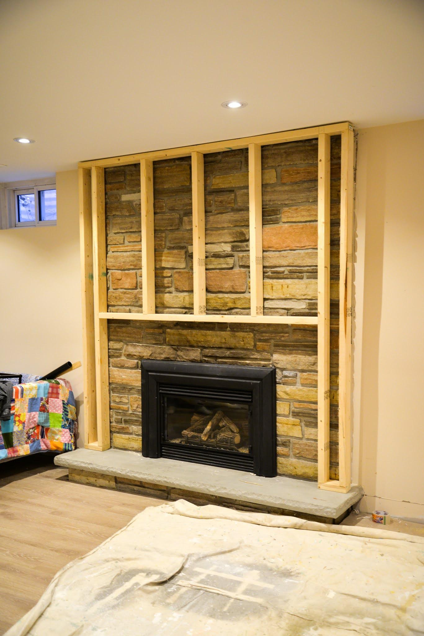 How To Update A Stone Fireplace Rambling Renovators