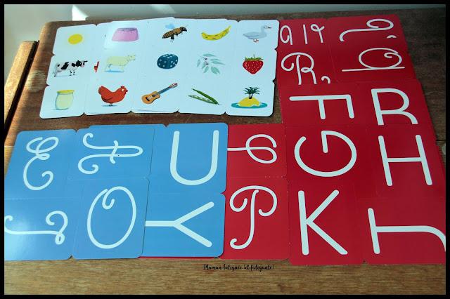 pochette montessori grund  grandes lettres rugueuses