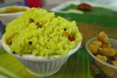 Murugan Idli Shop, lemon rice